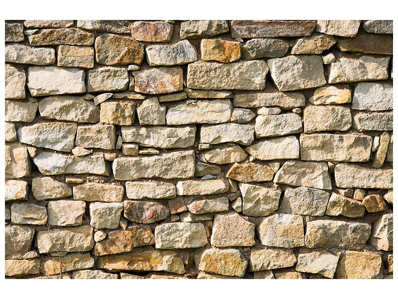 Aluminiumbild Natursteine