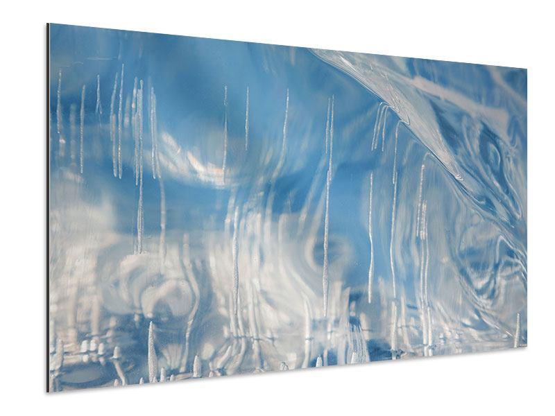 Aluminiumbild Das Eis des Baikalsees