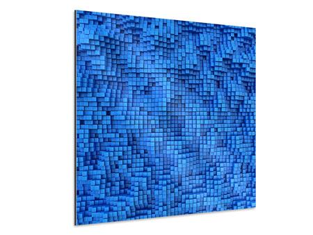 Aluminiumbild 3D-Mosaik