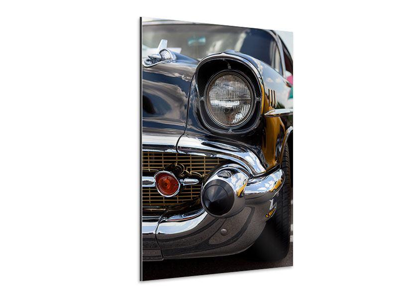 Aluminiumbild Oldtimer