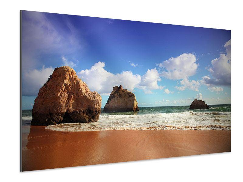 Aluminiumbild Strandgedanken