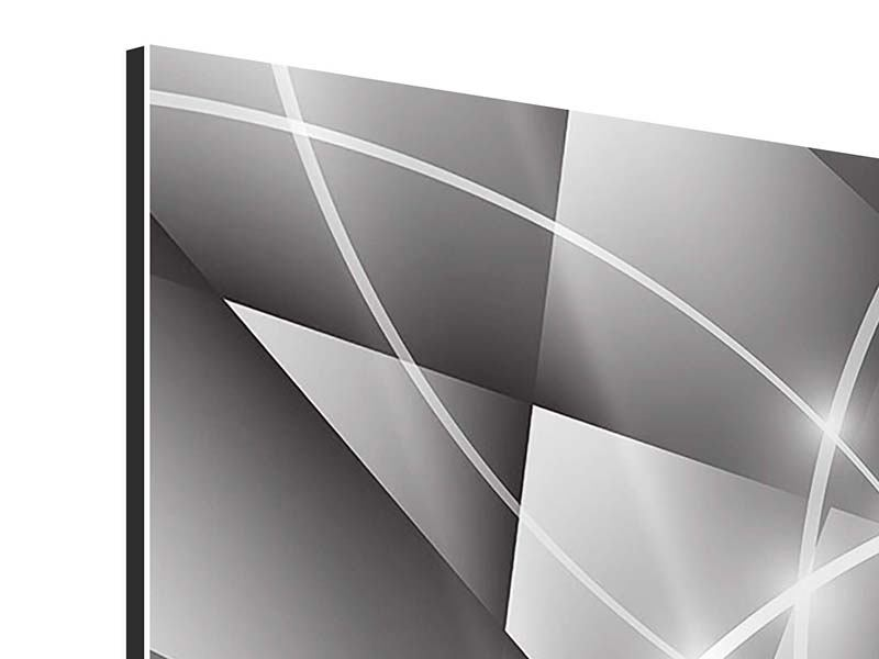 Aluminiumbild Geometrie