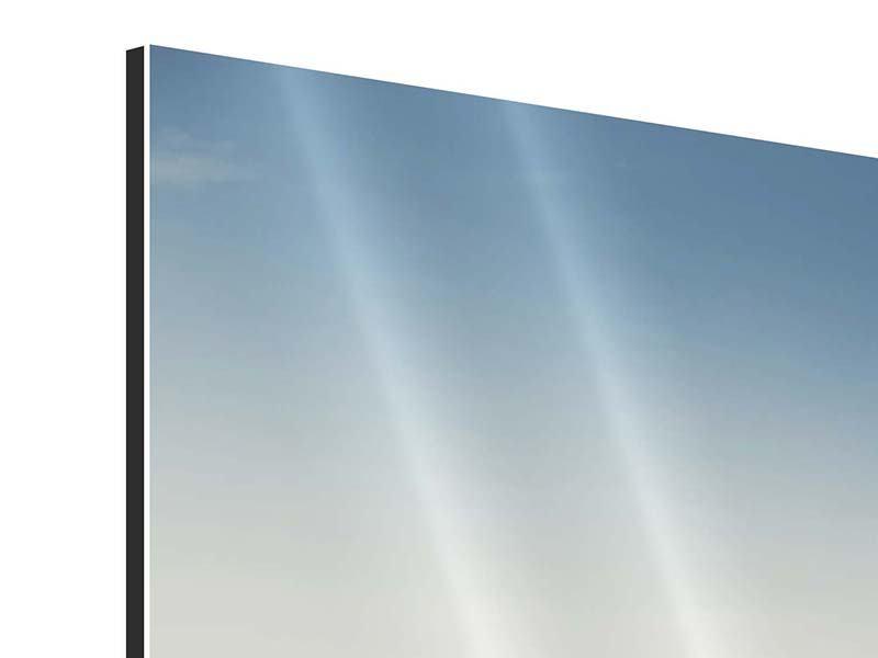 Aluminiumbild Segelboot