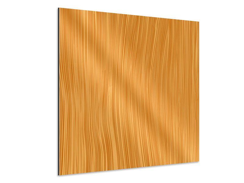 Aluminiumbild Wooden