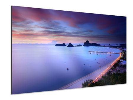 Aluminiumbild Ano Manao Bucht