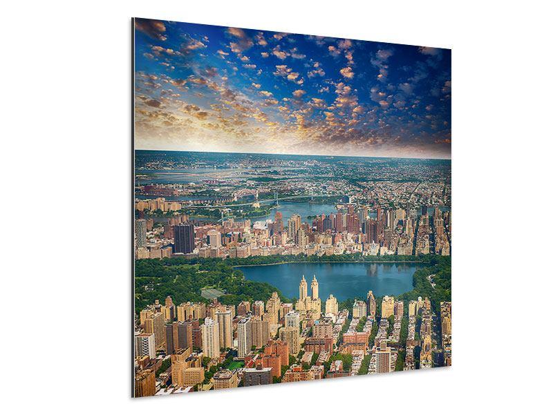 Aluminiumbild New York