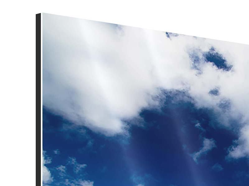 Aluminiumbild Strandliebe