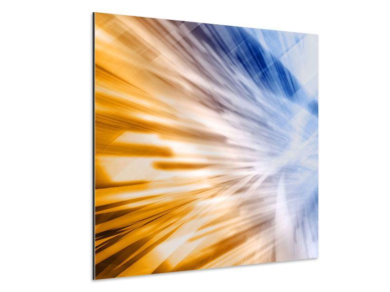 Aluminiumbild Abstrakte Galaxie