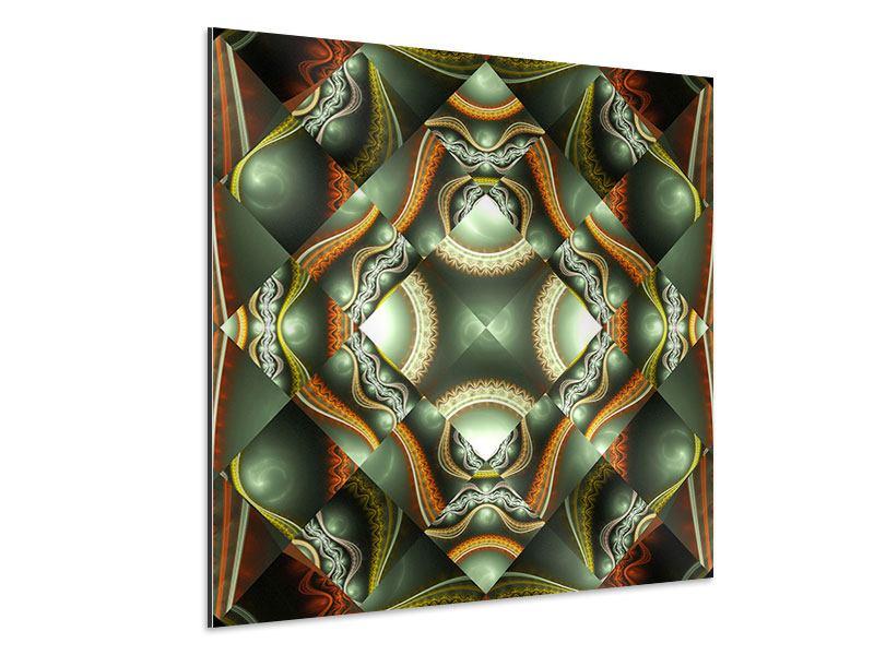 Aluminiumbild Fraktales Bild