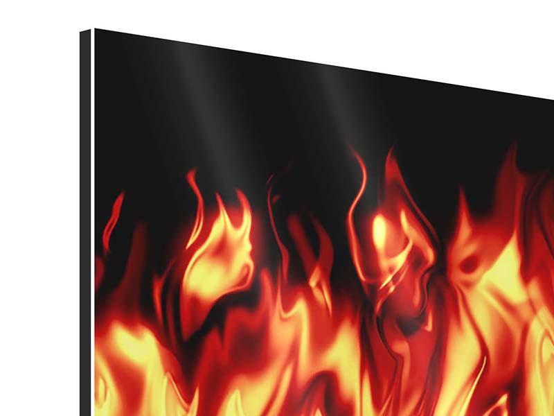 Aluminiumbild Feuerwasser