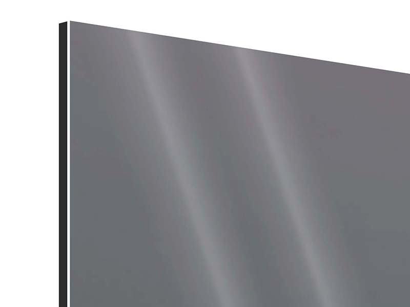 Aluminiumbild Der Leuchtturm bei Nacht