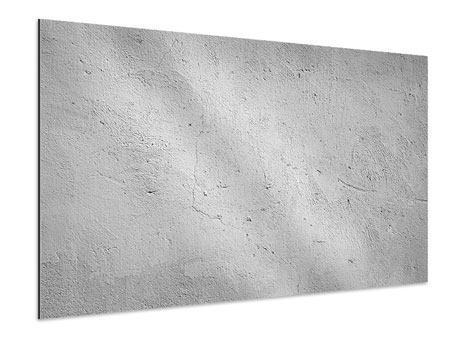 Aluminiumbild Beton
