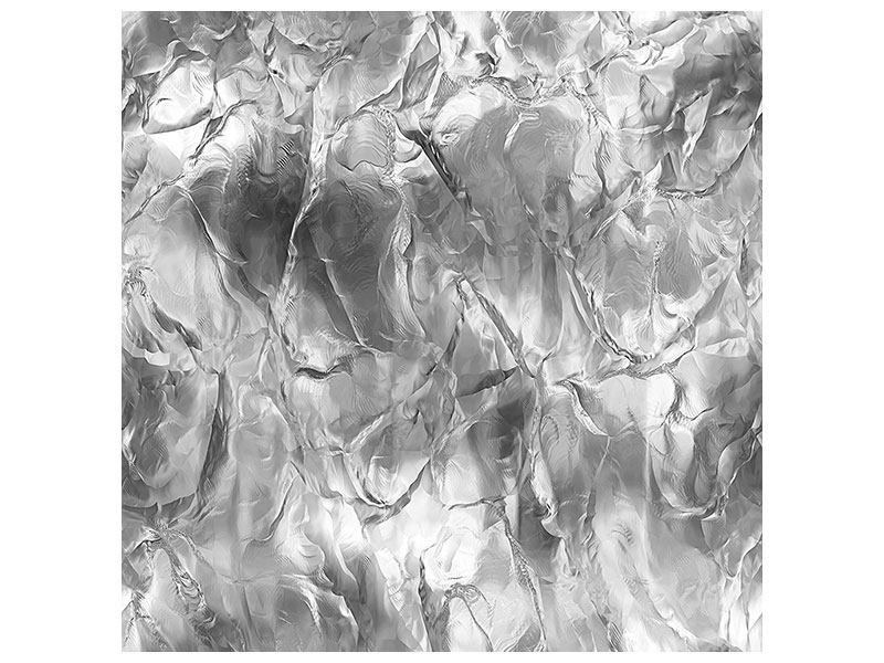 Aluminiumbild Eiswand