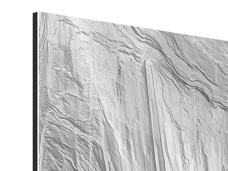 Aluminiumbild Icewall