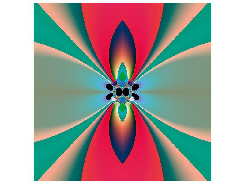 Aluminiumbild Psychedelic Art