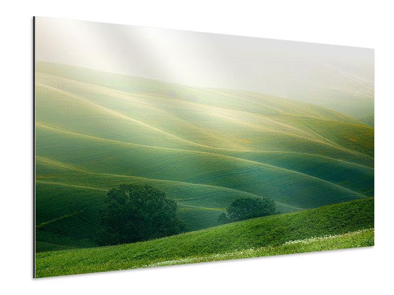 Aluminiumbild Toskana