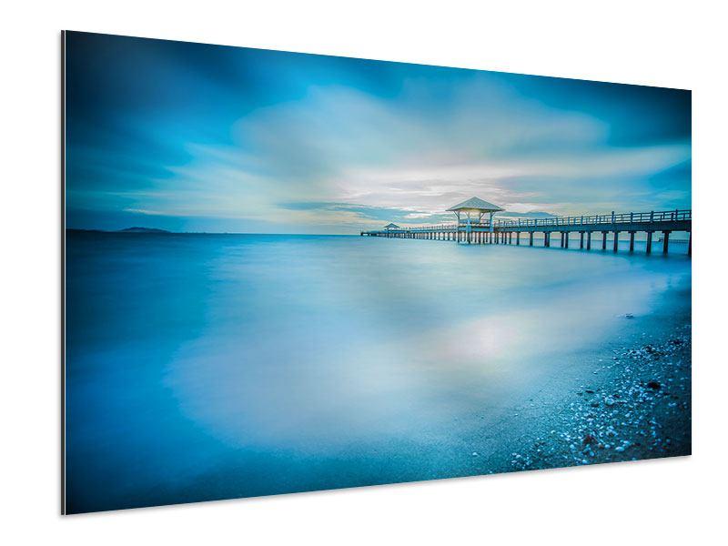Aluminiumbild Brückenimpression