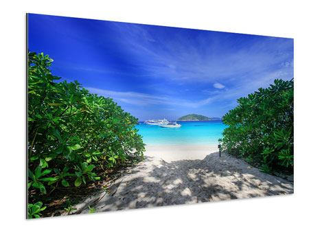 Aluminium Print Similan Islands