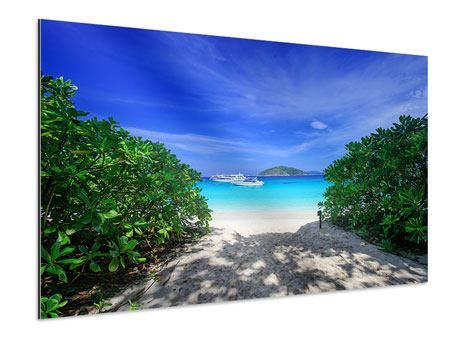 Aluminiumbild Similan-Inseln