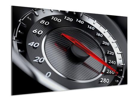 Aluminiumbild Geschwindigkeit