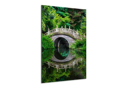 Aluminiumbild Der Traumhafte Garten