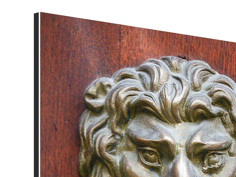 Aluminiumbild Antiker Türklopfer