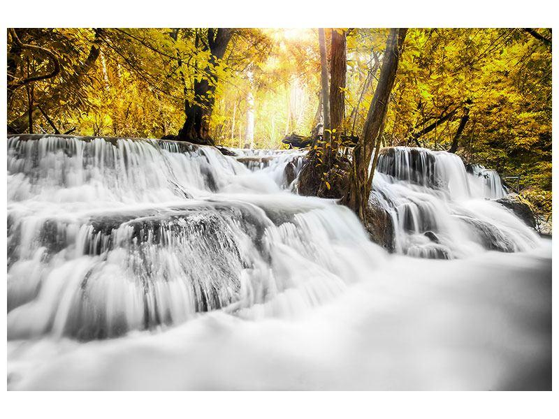 Aluminiumbild Wasser in Aktion
