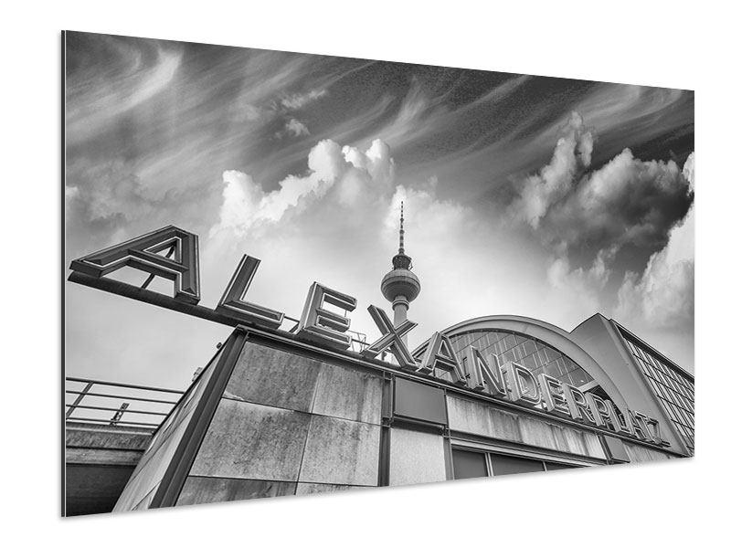 Aluminiumbild Alexanderplatz