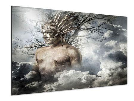 Aluminiumbild Gottheit