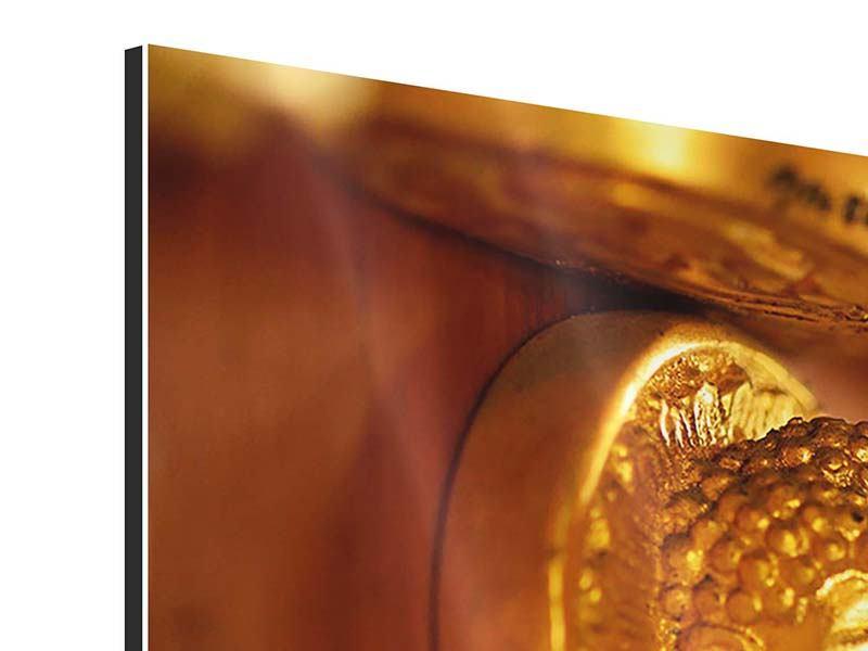 Aluminiumbild Buddhas