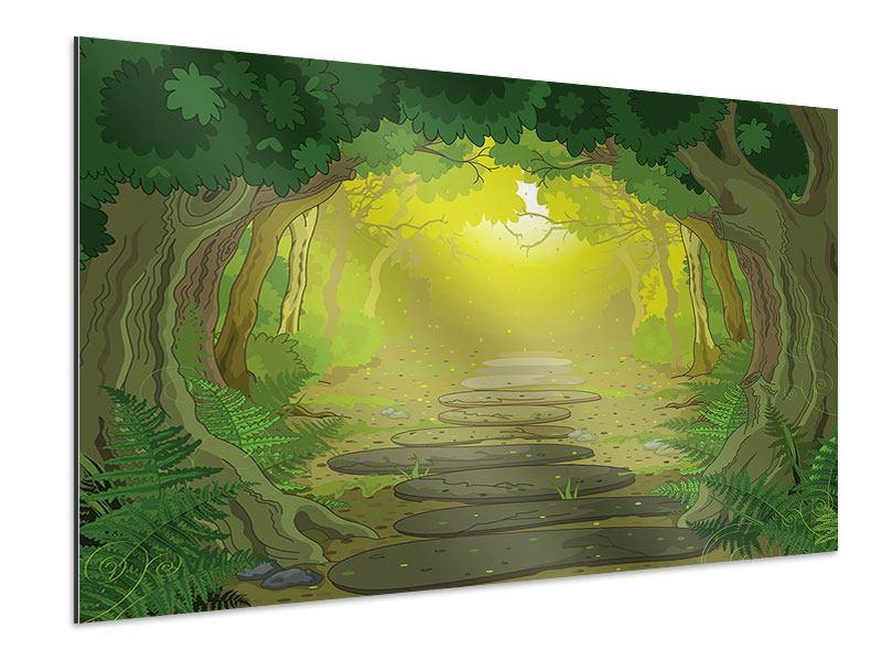Aluminiumbild Der Märchenwald