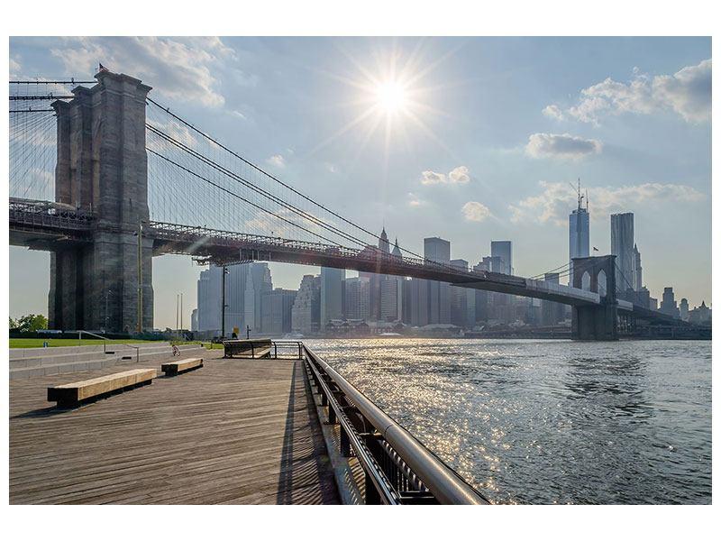 Aluminiumbild Brooklyn Bridge