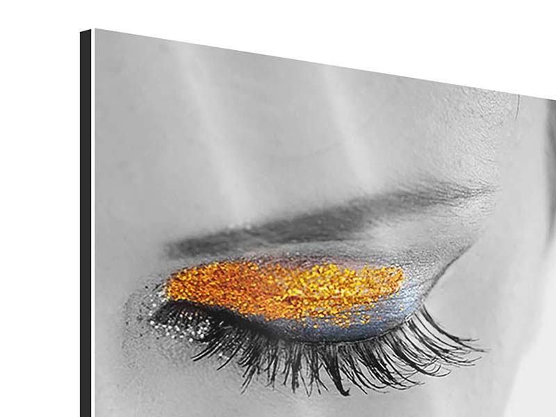 Aluminiumbild Close Up La Belle