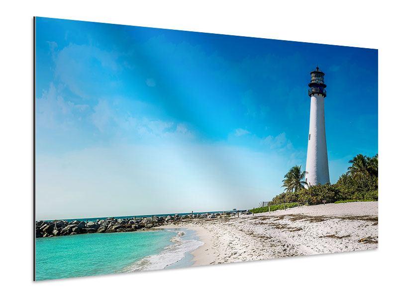 Aluminiumbild Cape Florida Ligthhouse