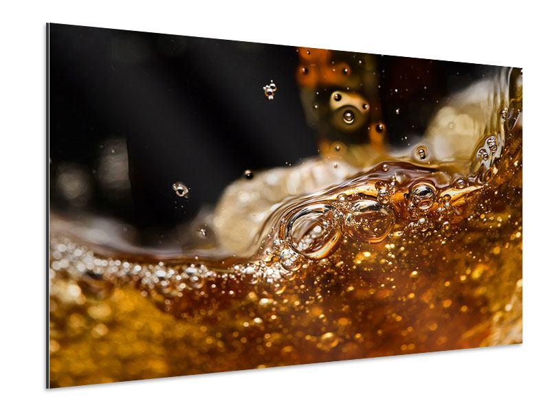 Aluminiumbild Cognac