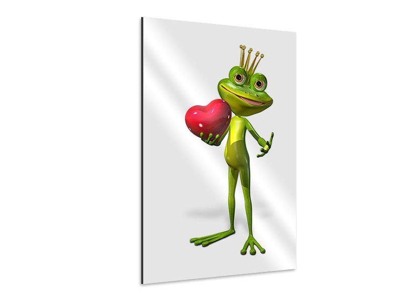 Aluminiumbild Froschkönig