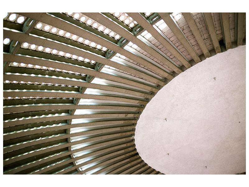 Aluminiumbild Abstraktes Rad