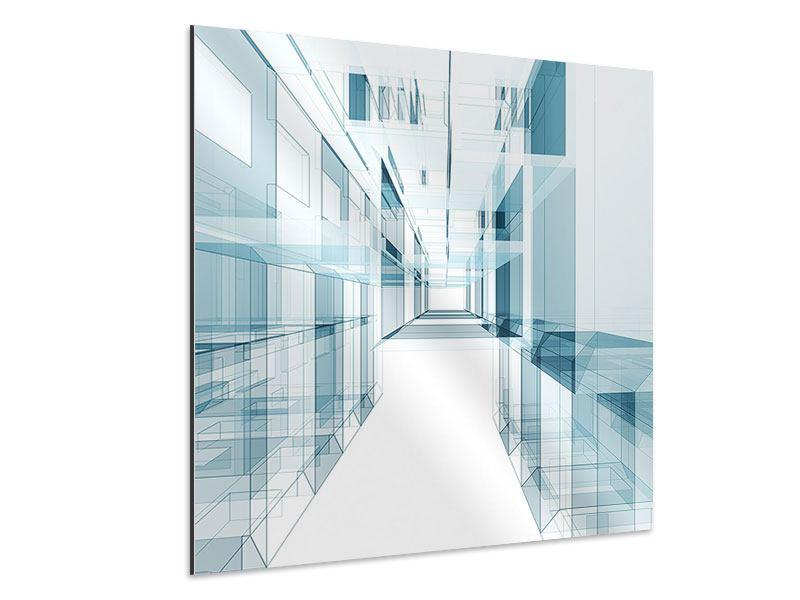 Aluminiumbild Raum der Räume