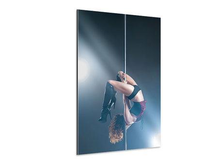 Aluminiumbild Poledance