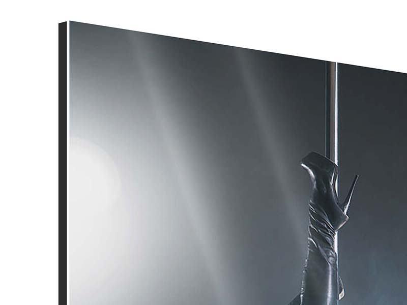 Aluminiumbild Stangentanz