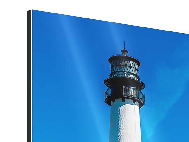 Aluminiumbild Leuchtturm