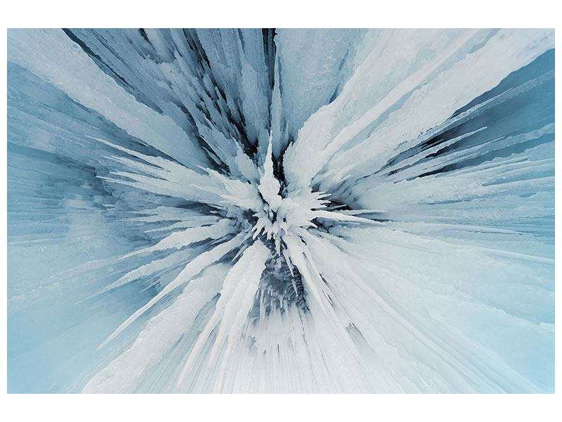 Aluminiumbild Eiskunst