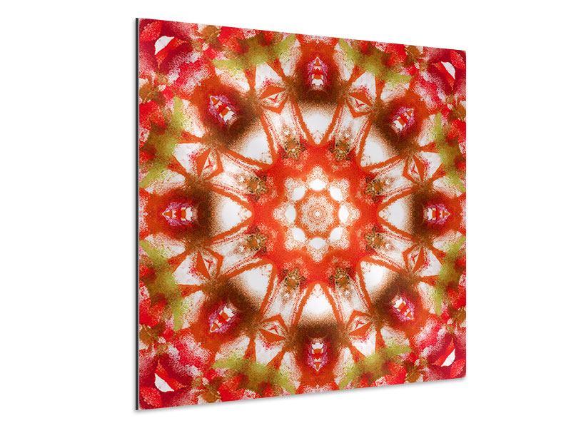 Aluminiumbild Geometrisches Gemälde