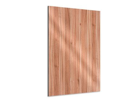 Aluminiumbild Holzdesign