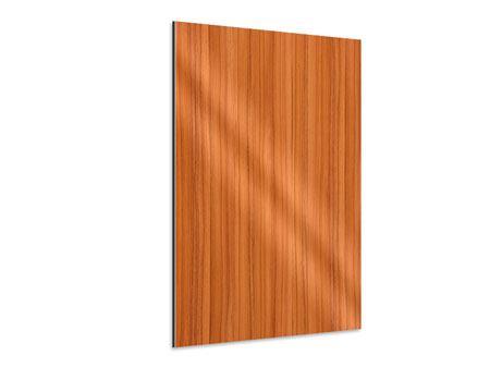 Aluminiumbild Holzchalet