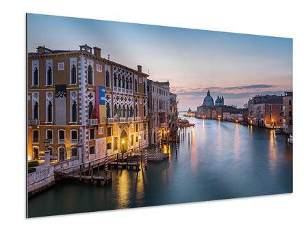 Aluminiumbild Romantisches Venedig
