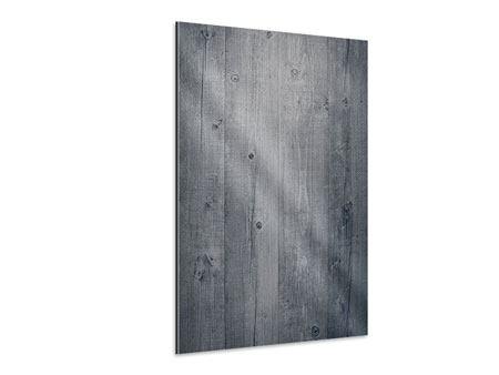 Aluminiumbild Holzschattierungen