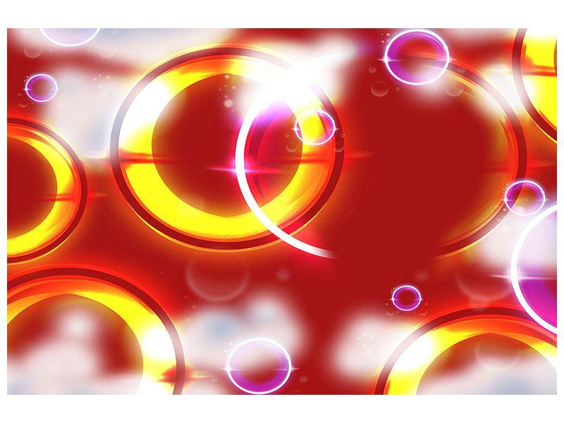 Aluminiumbild Abstraktes Retro