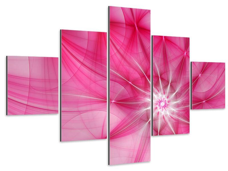 Aluminiumbild 5-teilig Abstrakt Daylight