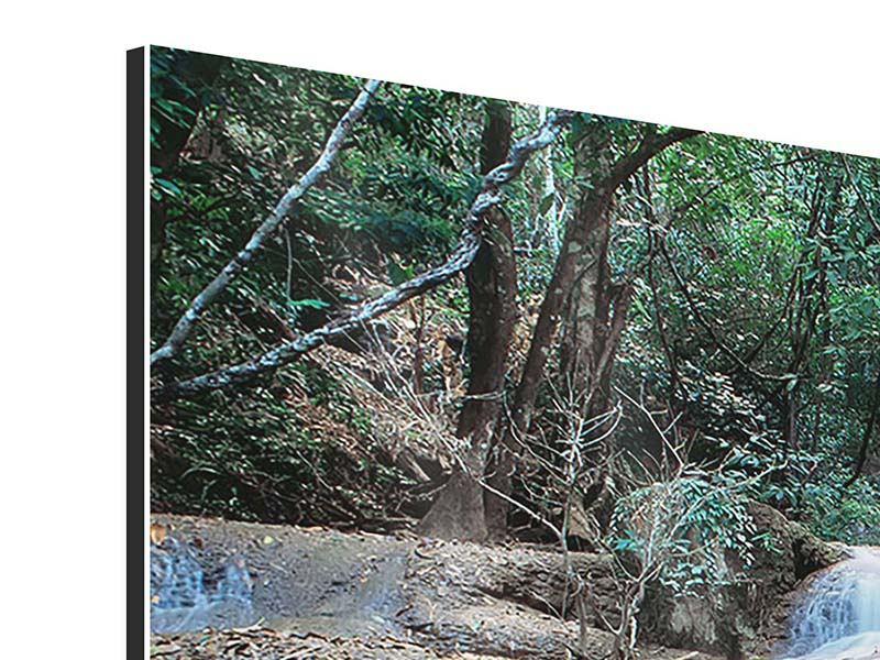 Aluminiumbild 5-teilig Ein Wasserfall